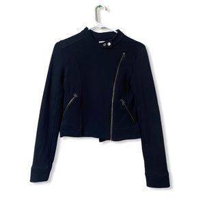 Sunday Best Black Moto Jacket Size 2